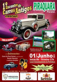 01/06 - 1º Encontro de Carros Antigos Especiais de Piraquara - Piraquara - PR http://mmmieventos.blogspot.com.br/2014/05/0106-1-encontro-de-carros-antigos.html