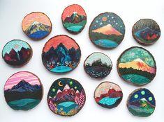 Beautiful Paintings on Reclaimed Wood