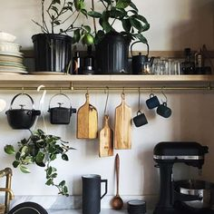 Urban jungle keuken deco