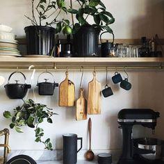 Urban jungle keuken deco