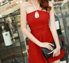 Buy Fashion Clothing - Sleeveless Sexy NightClub Women's Short Dress - Casual Dresses - Dresses