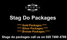 Are you searching for plan the ultimate stag do clubs packages in London? Today your budget online booking stag do clubs at Browns. Call us on 020 7490 4789 Stag Nights, London Clubs, London Today, Stage Show, Searching, Budgeting, How To Plan, Friends, Amigos