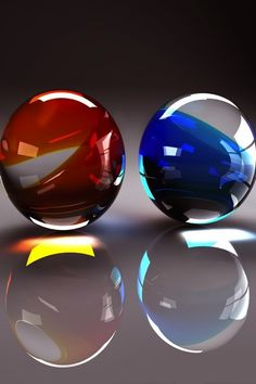 Red and Blue Marbles
