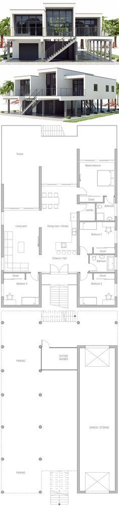 Beach house plan