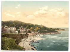Vintage photograph reprint of Heysham Village, Morecambe, England Original was colorized lithograph / Photochrom print. Various sizes Photo Postcards, Vintage Postcards, Vintage Photographs, Vintage Photos, Library Of Congress Photos, Morecambe, Colorized Photos, Color Photography, Vintage Travel