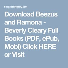 Ramona and her friends 4 beezus and ramona ramona and her mother ramona and her friends 4 beezus and ramona ramona and her mother henry and ribsy and henry and beezus 9780440472223 beverly cleary isbn 1 fandeluxe Gallery