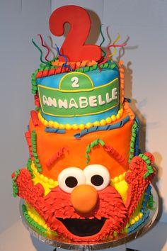 """""""Elmo"""" Birthday Cake Bittersweet Bake Shoppe Tyngsboro, Massachusetts"""