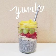 Chia Seed Pudding Recipe- 4 ingredients, just mix and refrigerate. So easy and HEALTHY