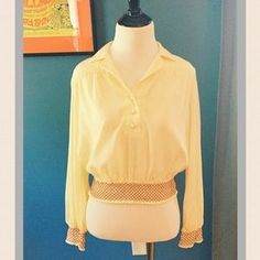 Selling this on Poshmark: ASOS Crop Blouse. Check it out! Price: $19 Size: 4P