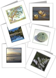 Set of 6 PRINTABLE mini nature themed cards. Starting at $5 on Tophatter.com! #tophatter #photography