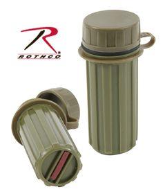 a9ec25fadc1 Rothco Plastic Matchbox Olive Drab