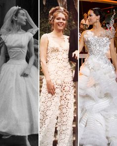 The Most Iconic Movie Wedding Dresses of All Time Martha Stewart Weddings Movie Wedding Dresses, Wedding Dress Costume, Wedding Movies, Wedding Scene, Costume Dress, Wedding Wall, Wedding Gowns, Lace Wedding, Father Of The Bride Outfit