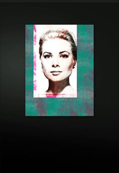 Acrylic coated Fine Art C-Print Paper Patchwork Collage (multi-layered) Size: 120 cm x 90 cm Certified and signed Print Paper, Art Series, Grace Kelly, Kelly Green, Collage, Fine Art, Interior, Floral, Artwork