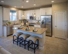 Buy Richmond American Homes, a major provider of craftsmanship in homebuilding, at Cadence! We are the premiere planned community in Henderson, Nevada. Richmond American Homes, Richmond Homes, Log Home Kitchens, Henderson Nv, Home Studio, Finding A House, Log Homes, Great Rooms, Sweet Home
