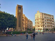 Downtown beyrut, Rolex saat kulesi şehrin sembollerinden.