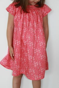 Pauline by Citronille   Liberty Capel Coral