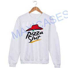 Pizza slut Sweatshirt Sweater Unisex Adults size S to 2XL