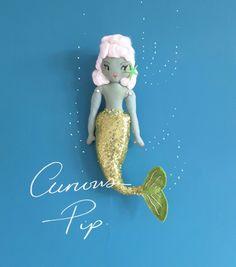 Artdolls Mermaid Dolls, Mermaid Art, Handmade Soft Toys, Handmade Crafts, Plush Dolls, Rag Dolls, Sock Toys, Popular Toys, Girly Gifts