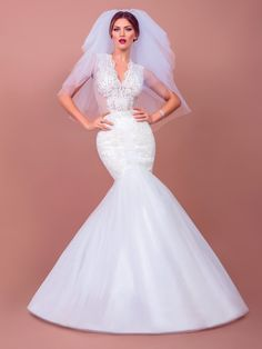 30 haute couture wedding dresses by BIEN SAVVY - Home decoration ideas Sophisticated Wedding Dresses, Long Wedding Dresses, Wedding Gowns, Prom Dresses, Formal Dresses, Dress Prom, Pnina Tornai, Yes To The Dress, Forever