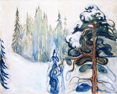 Inverno by Edvard Munch