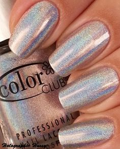 "color club ""harp on it"" by Claudia, the Holographic Hussy. an excellent inexpensive holo line!"