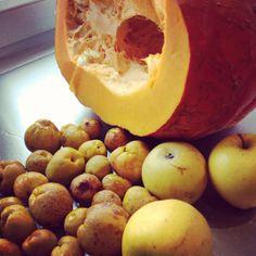 Udany trójkąt - Pigwa, dynia, jabłko ;) Dżem z pigwy i dyni #dżem #konfitura #marmolada #przepis #przetwory #pigwa #dynia #jabłko #słodko #domowy