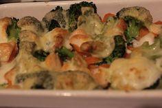 summer casserole with veggies/ Sommergemüseauflauf