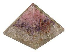 Harmonize Quartz Stone Orgone Pyramid Gemstone Orgonite Reiki Healing Crystal Chakra Energy Generator -- Awesome products selected by Anna Churchill