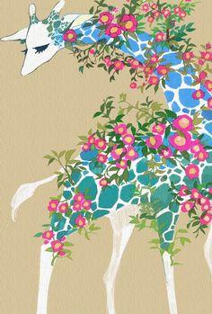working giraffe wallpaper fairy - photo #23