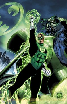 Green Lantern #33 cover by Ethan Van Sciver