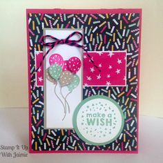 Party Wishes - Stamp It Up With Jaimie