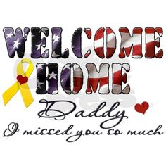 Welcome home sign ideas
