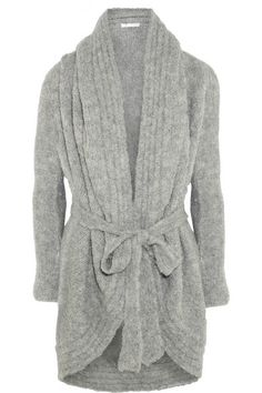 Hooded alpaca-blend robe ($315.00) - Svpply
