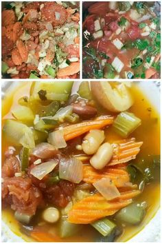 Pressure Cooker Recipes, Pressure Cooking, Slow Cooker, Crockpot Minestrone, Olive Garden Minestrone Soup, Italian Soup, Easy Soup Recipes, Dinner Recipes, Pasta Soup