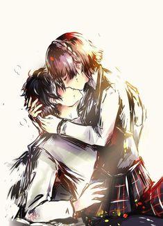 Persona 5 Joker, Persona 4, Persona 5 Makoto, Manga Anime, Makoto Niijima, Shin Megami Tensei Persona, Akira Kurusu, Love Illustration, Cute Anime Couples