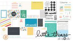 Ali Edwards   Blog: AE Digital Creative Team   Little Things