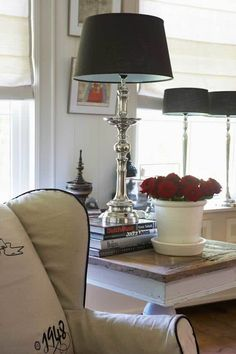 Rivièra Maison Lamp Classic Medina - Tafellamp - Zilverkleurig