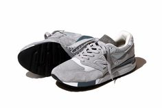 It looks like a heritage New Balance colourway on a Made in USA NB 998 with that grey and subtle hits of blue, but it's actually a BEAMS collaboration, and it's set to drop at the end o…