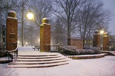 Ohio University College Gate. Miss it.
