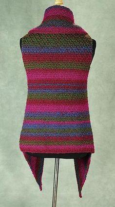 Ravelry: The Prudence Crowley Vest pattern by Robin Hunter Love Knitting, Arm Knitting, Weaving Patterns, Crochet Patterns, Knit Vest Pattern, Christmas Knitting Patterns, Lang Yarns, Paintbox Yarn, Red Heart Yarn