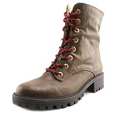 Bar III Blue Women US 5 Brown Mid Calf Boot >>> Check out the image by visiting the link.