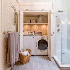 Как вам такой вариант размещения техники в ванной? 👌 или 👎