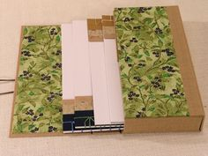 Japanese Stab Binding Journals in Case by Andrea Martin