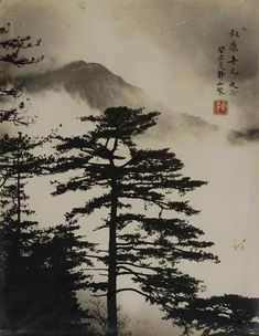 """Picture in the painting, painting in the picture""Lang Jingshan (Chinese: 郎靜山; 1892 – 13 April also romanized as Long Chin-san and Lang Ching-shan, was a pioneering photographer and one of the first Chinese photojournalists. Asian Landscape, Chinese Landscape Painting, Chinese Painting, Landscape Art, Landscape Paintings, Art Paintings, Indian Paintings, Abstract Paintings, Japan Painting"
