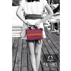 Surprise your mom with the new Preppy Purple from Peau Féroce. Made from 100% genuine leather. Available on www.peauferoce.com/buy-now-pf-194