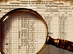 TIPS ON CENSUS SEARCHING| Doing research using the U. S. Federal Census is a major undertaking but can yield great information about your ancestors. The most important item to remember is that all information recorded on a census was provided by someone in a specific household so there can be mistakes. #census #genealogy #familytree