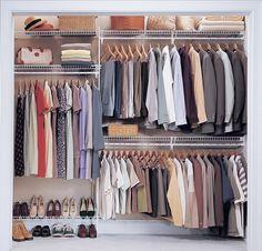 reach in closet ideas - Google Search