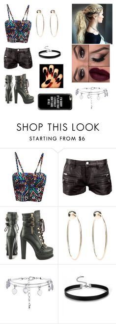 """""""Untitled #58"""" by emilydkent ❤ liked on Polyvore featuring IRO, Luichiny, Bebe and Casetify"""