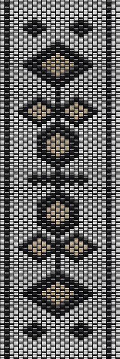 Beautiful grille  by Cory Peters.....great peyote pattern bracelet