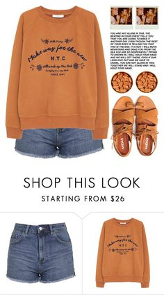 """""""MAKE WAY FOR THE NEW"""" by emmas-fashion-diary ❤ liked on Polyvore featuring Topshop and MANGO"""